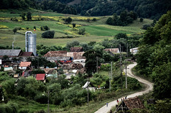 Romania Countryside (nicklaborde) Tags: 500px landscape travel house architecture tree road building grass countryside agriculture hill rural outdoors daylight scenic d7000 no person nikon romania
