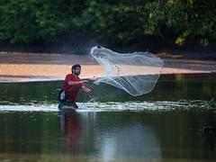 Tarralleando (wittowio) Tags: pescador