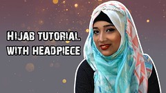 Hijab tutorial for summer covered chest with headpiece   Riku Haque (Riku Haque) Tags: hijab tutorial for summer covered chest with headpiece   riku haque