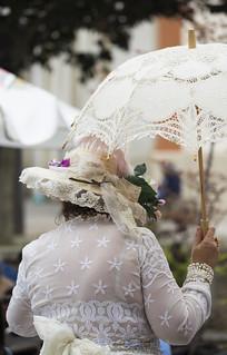 Una sombrilla o paraguas