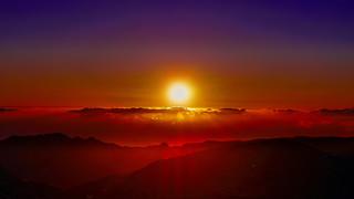La Gomera - Puesta de Sol
