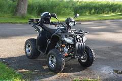 Quad, EGLMOTOR Lyda 203-1 (PhotoTJH) Tags: phototjh phototjhnl quad atv allterrainvehicle road legal weg legaal zwart black egl eglmotor lyda lyda203e1 lyda203e2 203 203e1 203e2