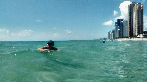 Baño de mar