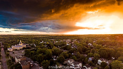 Canandaigua City court house during sunset after a storm - 20170625.jpg (Stephen Kalbach) Tags: canandaigua newyork unitedstates us