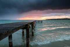 Gang ins Meer (ungesund) Tags: ammersee bayern graufilter nd sommer langzeitbelichtung