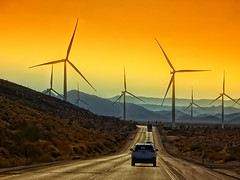THE FUTURE IS NOW (/\ltus) Tags: windmill cleanenergy i8 interstate interstatehighway california southerncalifornia desert roadtrip sony dschx80 sonorandesert