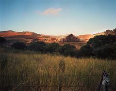 Barn on Stage Road - Color (preston e davis) Tags: sinar4x5 ektar100 epsonv700 leefilter superangulon90mm largeformat