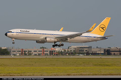 Condor B763 DABUM ($and$man) Tags: cyyc yyc calgary boeing 767 condor airplane aircraft airport achim dabum landing