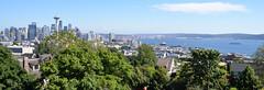 Seattle Skyline and Bay (trphotoguy) Tags: 2885mmf3545af seattle washington skyline seattleskyline cityskyline kerrypark elliottbay