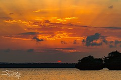 Sunset at Chale Island