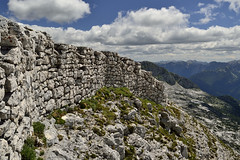 The trench (matteo.buriola) Tags: friuli slovenia alpi giulie cima confine trincea trench grande guerra world war one landscape panorama mountains trekking hiking nikon d3100