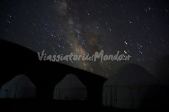 Song Kul - Milky Way (Viaggiatori del Mondo) Tags: иссыккуль issykkulʹ kyrgyzstan silk road via della seta asia centrale central skazka issyk kul region ysykköl ысыккөл cammello cammelli camel real vero camels lago riseva orto tokoy ortotokoy reservoir ортотокой суу сактагычы chu river fiume kochkor district province naryn шуşuw чүй çüy song lattea milky way stelle star yurt camp yurta yurte
