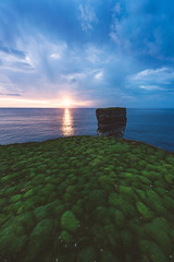 Ireland - Downpatrick Head (030mm-photography) Tags: rot irland ireland downpatrickhead sunset sonnenuntergang sea meer atlantic wildatlanticway wolken clouds reise travel landscape landschaft nature natur cliffs felsen klippen