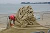Dragon Sand Sculpture (freewalkers) Tags: boston eastboston reverebeach sandsculture summer