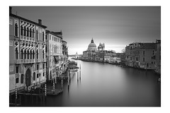The Grand Canal (vulture labs) Tags: venice long exposure photography workshop black white bw