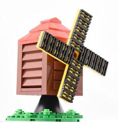 Micro Windmill (Ayrlego) Tags: lego micro windmill bobs