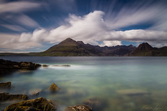 Layers of time (Erik van Lent) Tags: vakantieschotland2017 scotland elgol long exposure lee filters canon 6d seascape cloudporn movement mountains