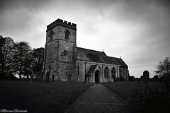 St Hilda's church, Sherburn (marcinbulinski) Tags: nikon stunning now late good great hell happy age middle ancient old sky project proud vicinity no mystery moody yorkshire north scary white black beautiful spectacular nice tower town church