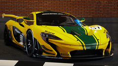 P1 GTR (StevenKCars) Tags: mclaren p1 p1gtr harrods green yellow racecar hybrid hypercar car carphotography canon cars carshow carevent carbon eos1300d exotic event netherlands performance gtr gt