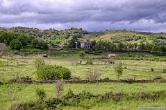 Sicilian landscape. (EVERY SO OFTEN) Tags: sicily sicilian landscape villa neglect abandoned outdoors rural agriculture spring april mount etna