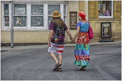 people in Glastonbury ... (2) (miriam ulivi OFF /ON) Tags: miriamulivi nikond7200 england glastonbury people street streetphotography