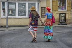 people in Glastonbury ... (2) (miriam ulivi) Tags: miriamulivi nikond7200 england glastonbury people street streetphotography