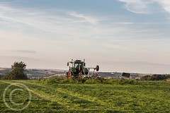 Sunday 16th July 2017 014 (Mark Schofield @ JB Schofield) Tags: agriculture agricultural tractor silage farnley csatle hill honley huddersfield yorkshire grass pasture contractor fendt 274 woolrow farm farming farmland sunset