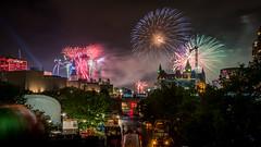 Canada Day 150 : July 1, 2017 (jpeltzer) Tags: ottawa canadaday canada150 fireworks laurierbridge parliament parliamenthill