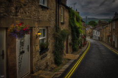 No Parking (Kev Walker ¦ From Manchester) Tags: architecture building canon1855mm canon700d clouds cumbria england hdr historic kirkbylonsdale postprocessing riverlune southlakeland town westmorland picturesque street