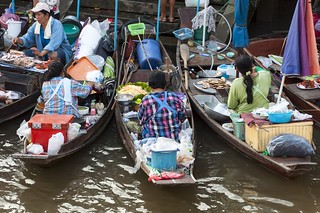 marché flottant amphawa - thailande 8