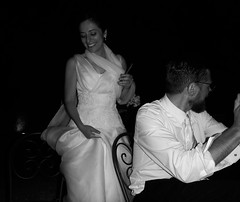 Bride in White ... and Black (Francesco Pesciarelli) Tags: bride wedding blackandwhite scene people flickr pesha bnw cigar colors life big downloadable mentionmyname varied collection thoughtful colours