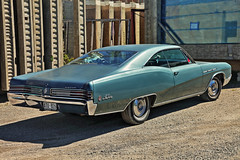 Buick LeSabre from 1968 (Burminordlicht) Tags: buick buicklesabre classiccar classiccars carimages car oldtimercars oldcars oldtimer americancars americanclassiccars amischlitten automobiles 1968