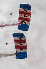 RAF Falcons duo (21mapple) Tags: raf falcons cosford aircraft airshow parachutes