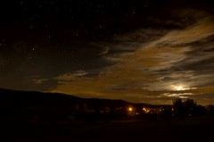 (La Belle Lumière) Tags: sondersdorf alsace france nuit video timelapse night lune moon
