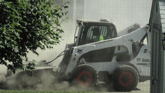 A Dirty Job (joeldinda) Tags: village mulliken constructionzone mullikenmeadows home michigan potter garage shed august 3214 house constructionequipment building tree dsch55 sonydsch55 sony sonycybershot 2016 cybershot pocketcam onthisdate 214366
