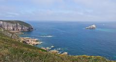 Cap Fréhel (schreibtnix on 'n off) Tags: reisen travelling europa europe frankreich france bretagne brittany breizh capfréhel meer sea küste coast klippen cliffs steil steep olympuse5 schreibtnix
