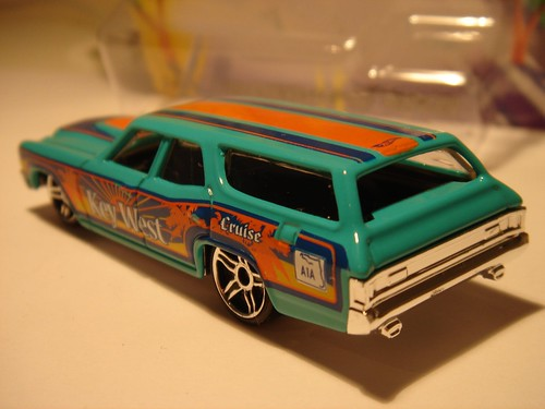 CHEVROLET CHEVELLE SS WAGON 1970 HOT WHEELS 1//64