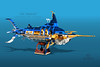 "USS Marlin (Markus ""Madstopper"" Ronge) Tags: lego steampunk moc madstopper submarine submersible nautical"