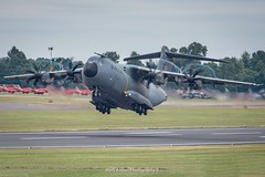 Airbus A400M Grizzly Takeoff (Mark_Aviation) Tags: airbus a400m takeoff ec404 demonstartor grizzly atlas military propeller transport large riat 2017 riat17 royal international air tattoo aircraft airplane airport aviation airlines aerospace aeroplane arriving airshow arrival af airways departing departure short jet