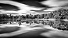 Stauweiher Kupferbach in Mono (YaYapas) Tags: kupferbach see schwarzweiss lake wald 11mm bwnd110 talsperre d7100 teich forest tokina1116 staudamm langzeitbelichtung longtimeexposure nd110 blackandwhite aachen nordrheinwestfalen deutschland de