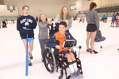 IMG_9289 (varietystl) Tags: manualwheelchair wheelchair afos afobraces anklefootorthotics legbraces iceskating