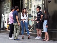 The Group (Multielvi) Tags: new york city ny nyc manhattan midtown group smoking men guys dudes girls women