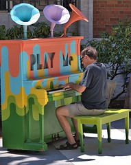 Play Me Piano (swong95765) Tags: piano public guy man musician play music whimsical