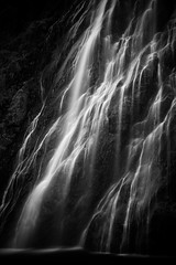 Tout en douceur (Julien Stalder) Tags: switzerland valais cascade waterfall water waterscape paysage eau monochrome leica summicron