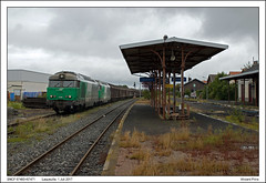 SNCF 67460+67471 - Laqueuille (01-07-2017) (Vincent-Prins) Tags: sncf bb67400 laqueuille 67460 67471 fret