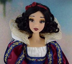 2017 D23 Snow White Limited Edition 17 Inch Doll - Disney Store Purchase - Deboxing - On Backing - Portrait Front View (drj1828) Tags: d23 2017 expo purchases merchandise limitededition artofsnowwhite snowwhiteandthesevendwarfs snowwhite princess deboxing certificateofauthenticity le1023
