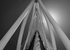 Torré Vasco da Gama (USpecks_Photography) Tags: torrevascodagama parquedasnacoes lisbon portugal expo architecture tower modernarchitecture contemporaryarchitecture symmetry backlight triangle