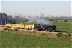 UP 844 (Justin Hardecopf) Tags: up unionpacific 844 fef3 steam engine locomotive business passenger special crescent iowa railroad train
