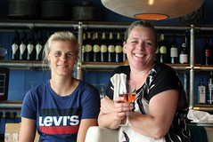 A day out with the colleagues (Davydutchy) Tags: texel eiland island ïle insel nederland netherlands niederlande paysbas noordholland beach strand plage paal17 strandtent club colleagues janneke lotte woman women lady ladies wijn wine wein vin fun goodtime june 2017