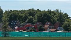 De oude Melco zuivelfabriek gesloopt...